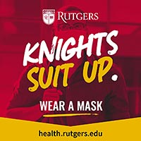 Knights suit up.  Wear a mask.